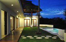 casa nida night view