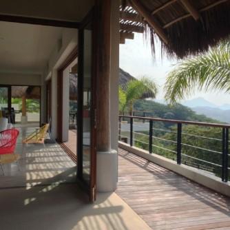 Casa Nido outdoor terrace