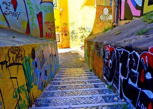 Alfama grafitti